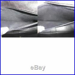 100% Auth Chanel Black Lamb Vintage Jumbo XL Shoulder Bag W30 E1047