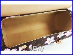 100%Auth LOUIS VUITTON Cherry Blossom Papillon Hand bag M92009 TAKASHI MURAKAMI