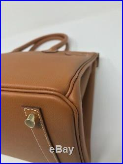 100% Authentic BRAND NEW Hermes Birkin 30 Veau Epsom Gold With GHW, 2018