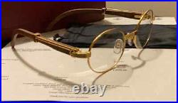 100% Authentic Cartier C Decor Mixed Marbled CT0227S Buffs Buffalo Sunglasses