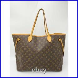 $1600 Louis Vuitton Neverfull Neo Gm Brown Monogram Canvas Tote