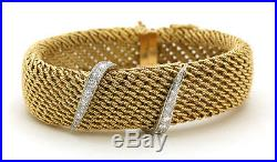 18K Tiffany & Co. France Diamond Watch CIRCA 1960'S Retail Vakue $25,000