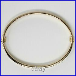 18 kt Yellow Gold CARTIER LOVE BRACELET with Screwdriver Size 16 5.75 B0915