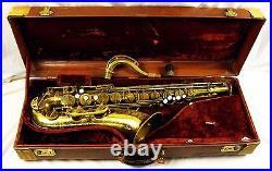 1951 Selmer Paris Super Balanced Action Sba Professional Tenor Saxophone 47xxx