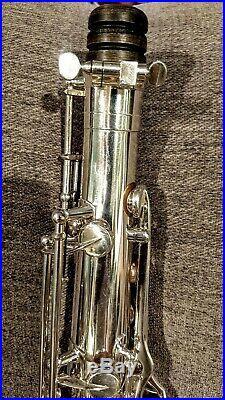 1966 Selmer Paris Mark VI Tenor Family Owned Mint Condition Original Silver&Gold