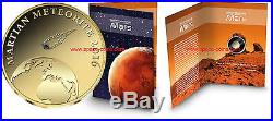 2016 Chad, Martian Meteorite, 3000 Francs, Gold! Mars Meteorite, Goldcoin