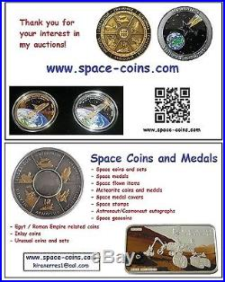 2016 Chad, Moon Meteorite, 3000 Francs, Gold! Lunar Meteorite, Goldcoin