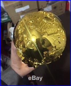 2018 France Cup Trophy Replica Soccer Gold Football 36cm Russia 1.4kg World