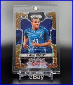 2018 Panini World Cup Prizm Fifa Soccer Kylian Mbappe Gold Lazer France /15