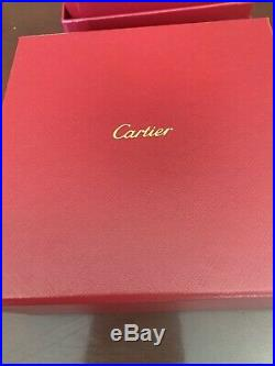 AUTHENTICCartier Love Bracelet Bangle 18K Yellow Gold Size 20