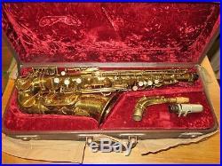 Alto sax selmer super balanced action 1949-gold lacquer