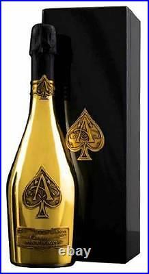 Armand de Brignac Brut Gold (Ace of Spades) 2 BOTTLES