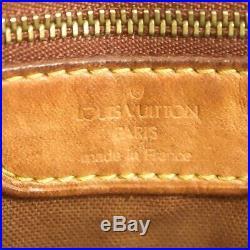 Auth LOUIS VUITTON CABAS MEZZO Shoulder Tote Bag Purse Monogram M51151 JUNK