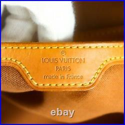 Auth LOUIS VUITTON MONTSOURIS GM Drawstring Backpack Purses Monogram M51135