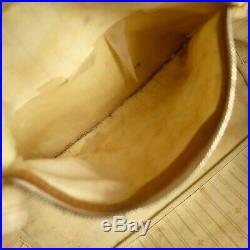 Auth LOUIS VUITTON NEVERFULL MM Tote Bag Shopping Purse Damier Azur N51107