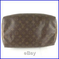 Auth LOUIS VUITTON SPEEDY 30 Hand Bag Doctor Purse Monogram M41526 JUNK