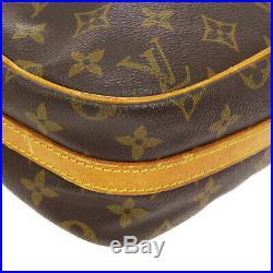 Auth Louis Vuitton Senlis Cross Body Shoulder Bag Purse Monogram M51222 A45017