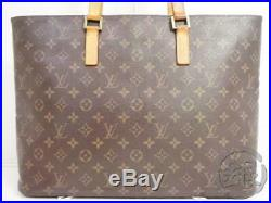Auth Pre-owned Louis Vuitton Monogram Luco Shoulder Tote Bag Purse M51155 191059