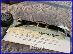 Authentic Cartier C Decor Sunglasses White Buffalo Horn 18k Gold Buffs CT0049O