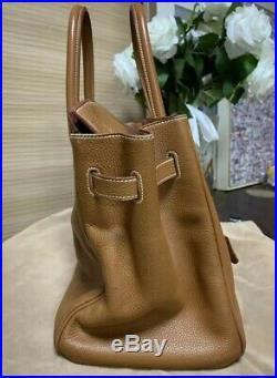 Authentic HERMES Birkin 35 Ghw Pre owend togo Leather