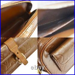 Authentic LOUIS VUITTON Christie MM Shoulder Bag Monogram Vernis M91109 81MF662