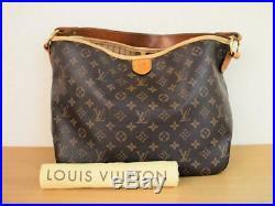 Authentic Louis Vuitton Delightful Pm Shoulder Tote Bag Handbag Purse Monogram
