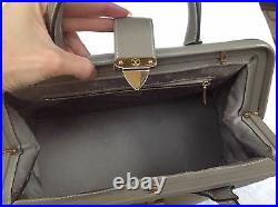 Authentic Louis Vuitton L'ingenieux PM Suhali Gray Leather Handbag