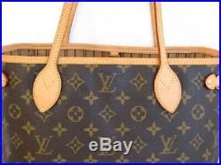 Authentic Louis Vuitton Monogram Canvas Neverfull PM Bag