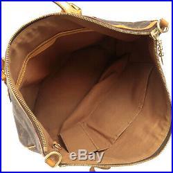 Authentic Louis Vuitton Monogram Palermo GM Tote Bag M40146 Used F/S