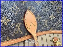 Authentic Louis Vuitton Neverfull MM Women's Tote Bag M40995