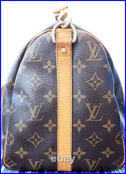 Authentic Louis Vuitton Speedy Bandouliere 30 Monogram Canvas Bag with Dust Bag