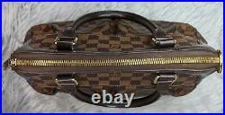Authentic Louis Vuitton Trevi PM Damier Ebene Two Way Bag with Dust Bag