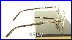 Authentic New Charriol PC7425A Eyeglasses Gold Gray Metal / Plastic France Frame