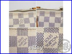 Authentic Pre-owned Louis Vuitton Damier Azur Saleya Pm Tote Bag N51186 190612