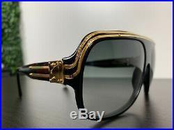 Authentic RARE Louis Vuitton Pharrell Millionaire Black Sunglasses Kanye Aviator