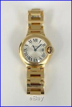 Ballon Bleu De Cartier Watch Yellow Gold, With Box