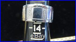CARTIER18K White Gold Tank Francaise Men's RingFrance0.65 cts VVS/F Diamonds