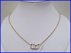 CARTIER 18k rose gold Baby Love pendant necklace 17.3