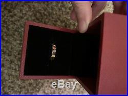 CARTIER Love Ring 18K Pink Rose Gold Size 52 US 6