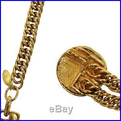 CHANEL 31 Rue Cambon Gold-Plated Chain Waist Belt Vintage France Auth #KK279 I