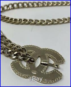 CHANEL CC Gold Chain Belt