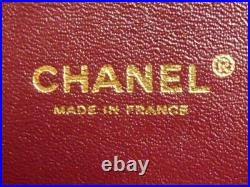 CHANEL CLASSIC BLACK LAMBSKIN JUMBO DOUBLE FLAP BAG GOLD GHW withAuthenticity Cert