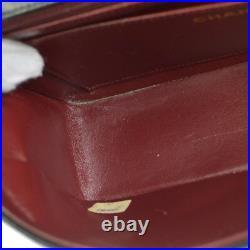 CHANEL Medium Diana CC Single Chain Shoulder Bag Black Leather Vintage AK35518b