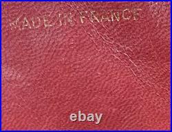 CHANEL Vintage Envelope Flap Bag XL Logo 24k Real Gold HW