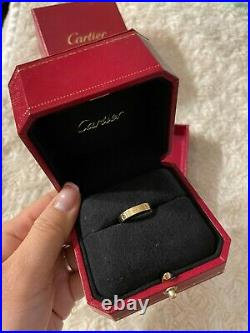 Cartier 18K Yellow Gold Love Ring Size 52