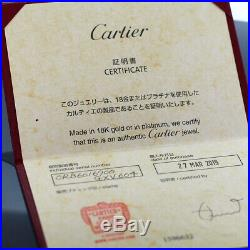 Cartier 18k Tri Color Gold Baby Trinity Bracelet With Certificate And Box