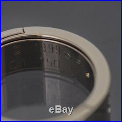 Cartier 18k White Gold Astro Love Ring 1999 Limited Edition 52 With Box
