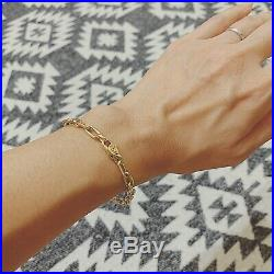 Cartier 18k Yellow Gold Spartacus Link Chain Bracelet With Certificate And Box