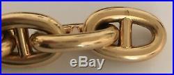 Cartier 1930's or 1940's 18kt Gold Anchor Link Bracelet Unisex