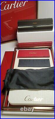 Cartier C Decor Sunglasses Big C New Model 18k Gold With Custom Black Gradient